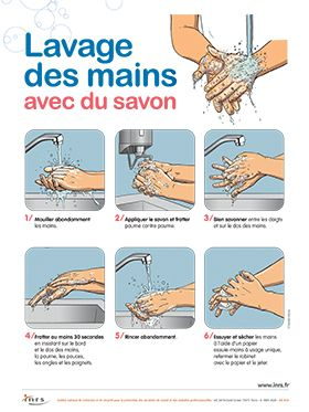 lavage mains